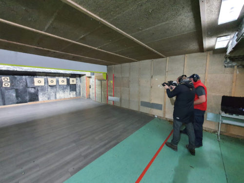 Der Schießstand der Academy 4 Guns