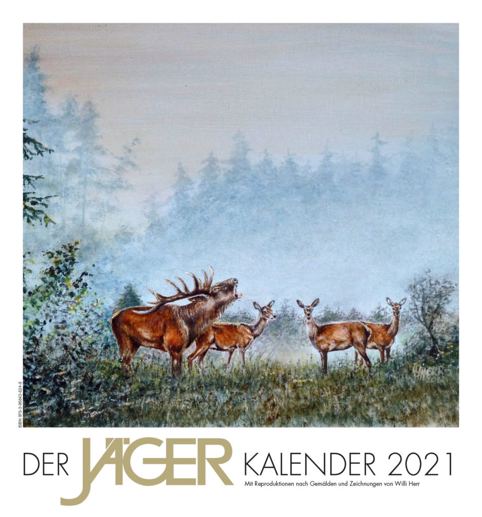 """Titelblatt Kalender """"Der JÄGER KALENDER 2021"""""""
