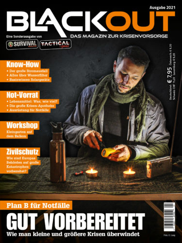 Cover des Magazins Blackout