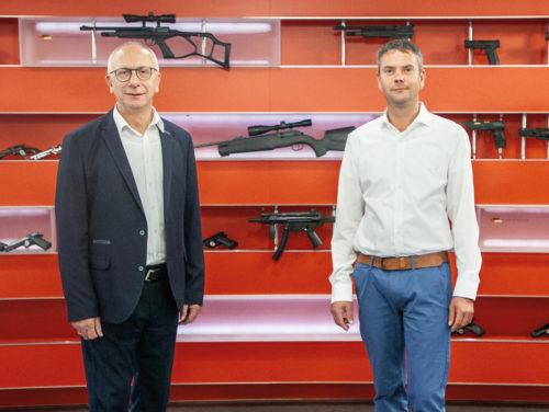 Thomas Fischer und Matthias Gessner von Umarex