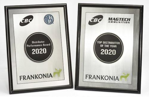 Urkunden Auszeichnung Frankonia