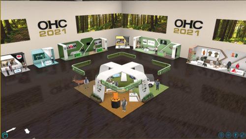 OHC 2021 Virtueller Messehalle