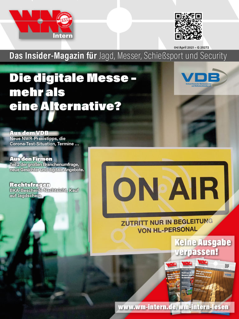 Cover WM-Intern Ausgabe 4 2021