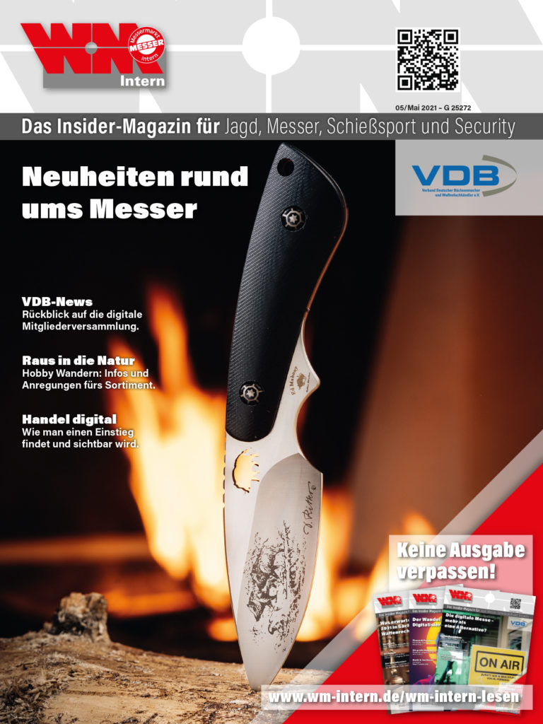 Cover der Mai-Ausgabe 2021