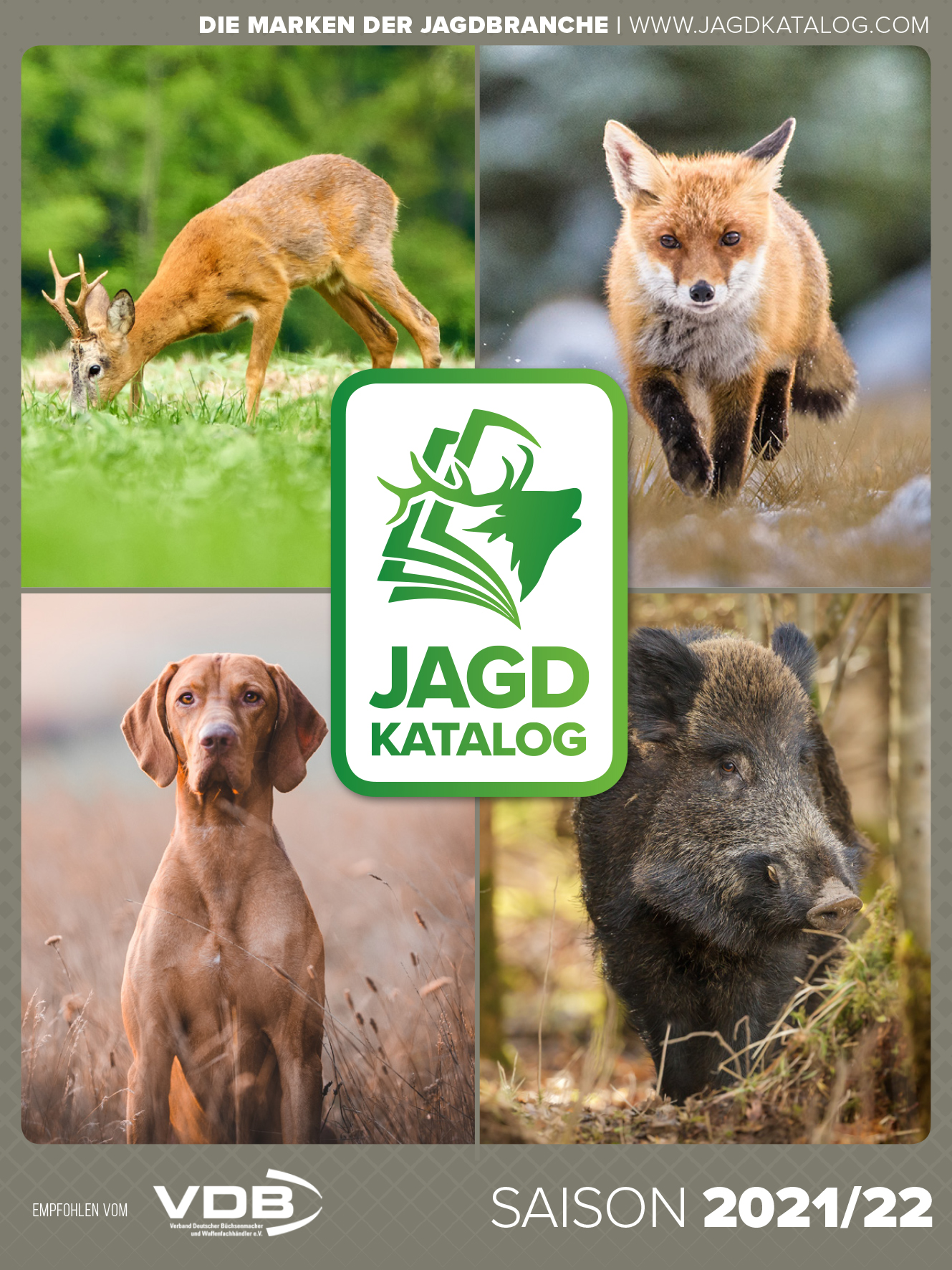 Cover der Jagdkatalog 2021/2022