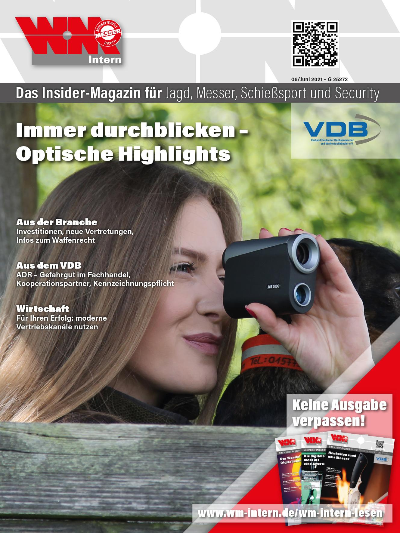Cover Juni-Ausgabe 2021