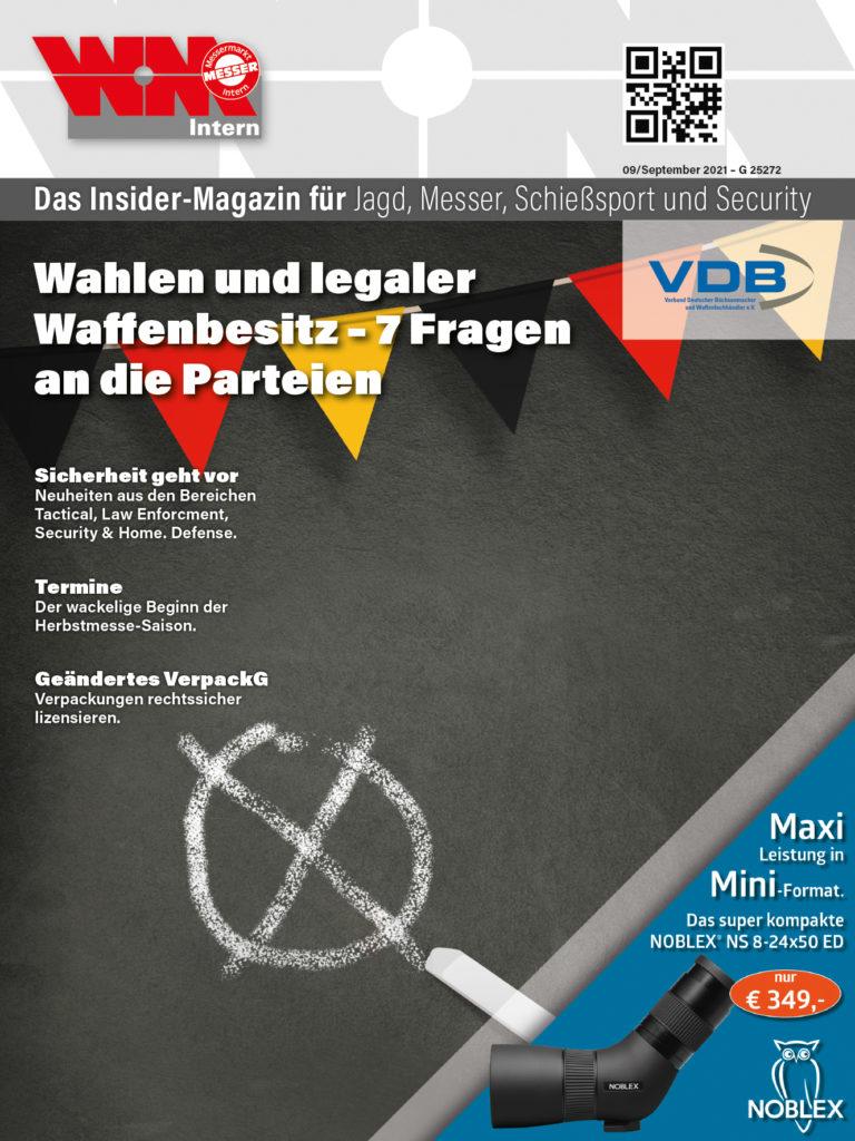 Cover WM-Intern September-Ausgabe