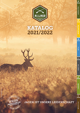 Titelbild des Kataloges 2021/2022 der Alljagd