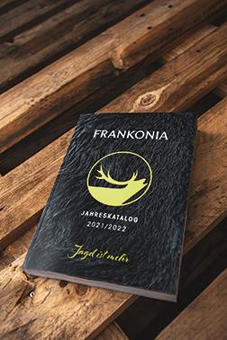 Titelbild des Kataloges 2021/2022 der Firma Frankonia
