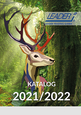 Titelbild des Kataloges 2021/2022 der Firma Leader Trading