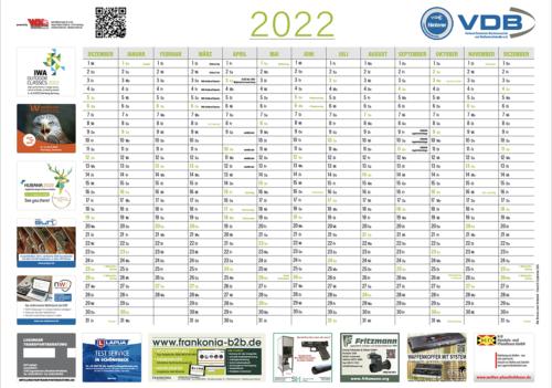 WM-Intern Jahresplaner 2022